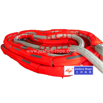 80mm Double Braided Nylon Mooring Rope